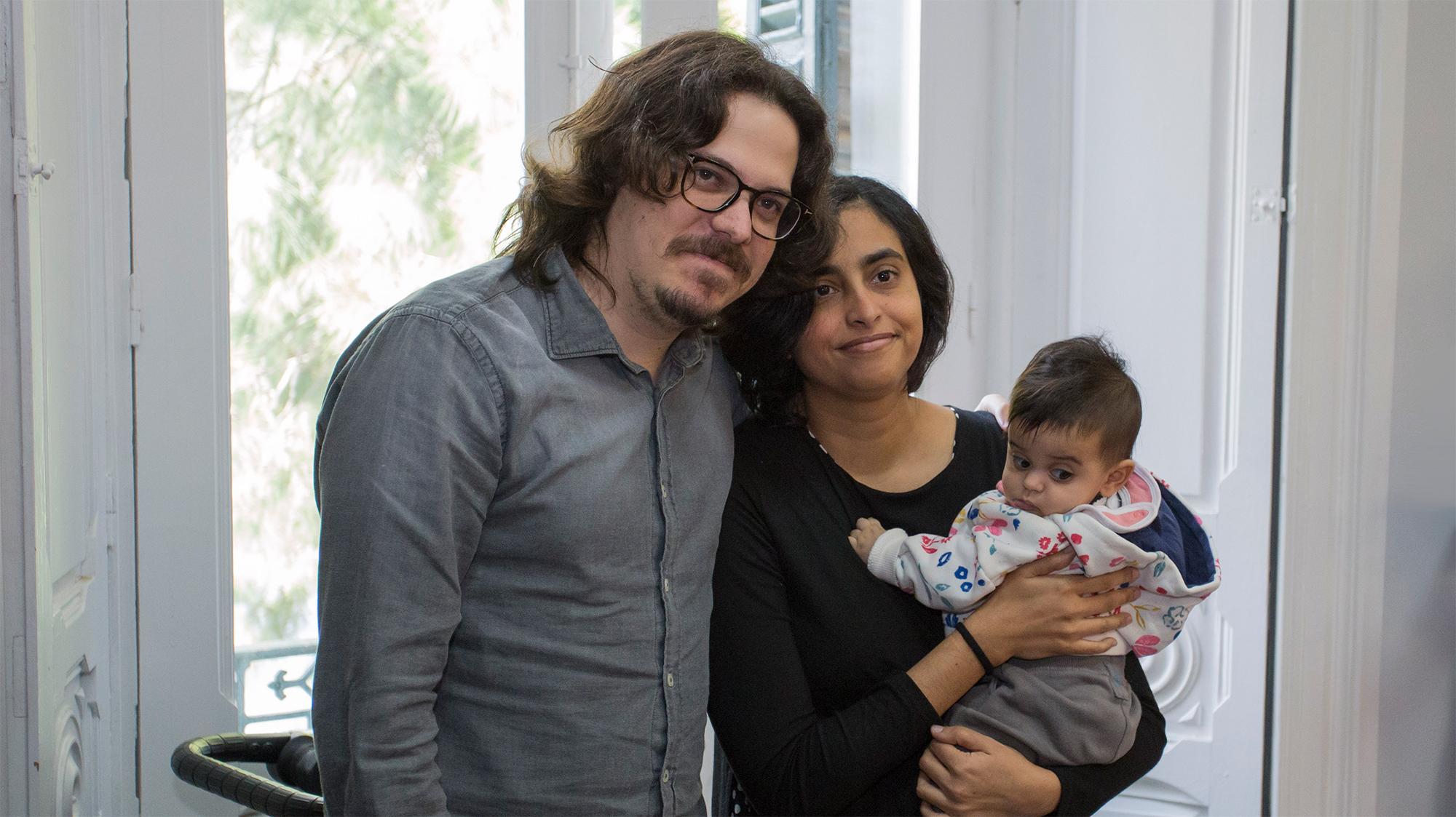 Oriol Estrada y Natalia Cabral