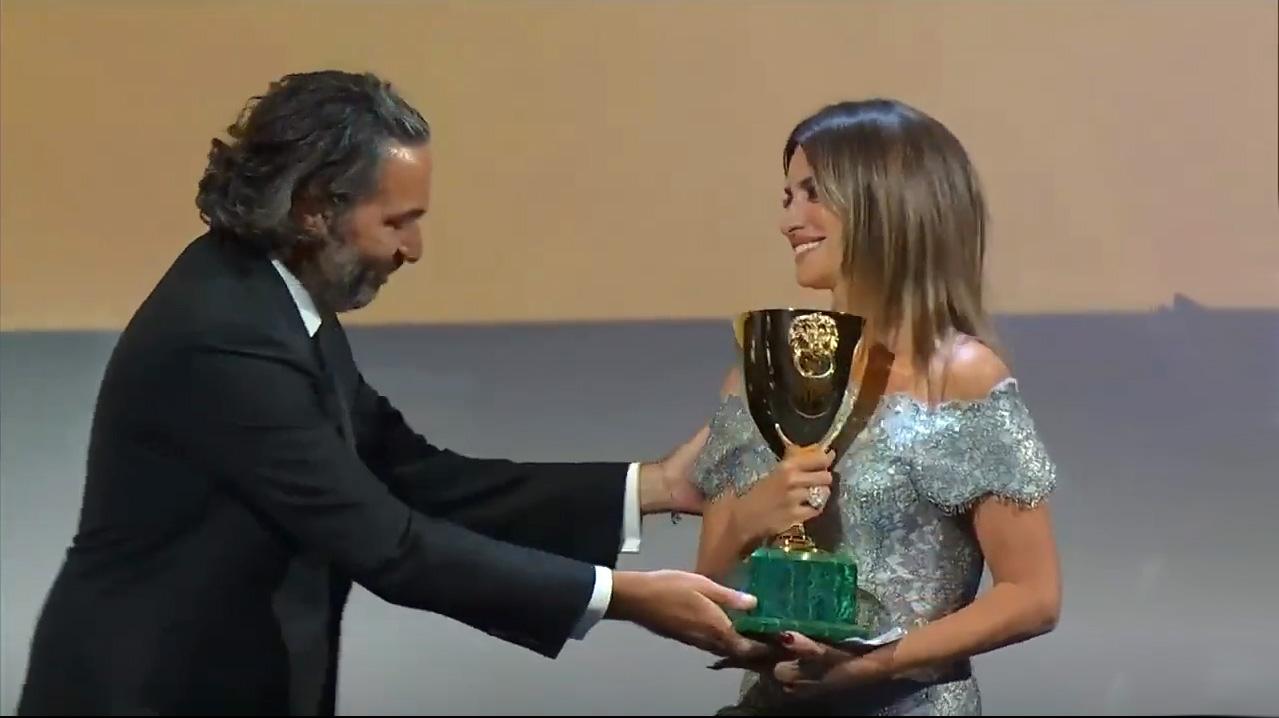 Copa Volpi a la mejor actriz para la española Penélope Cruz