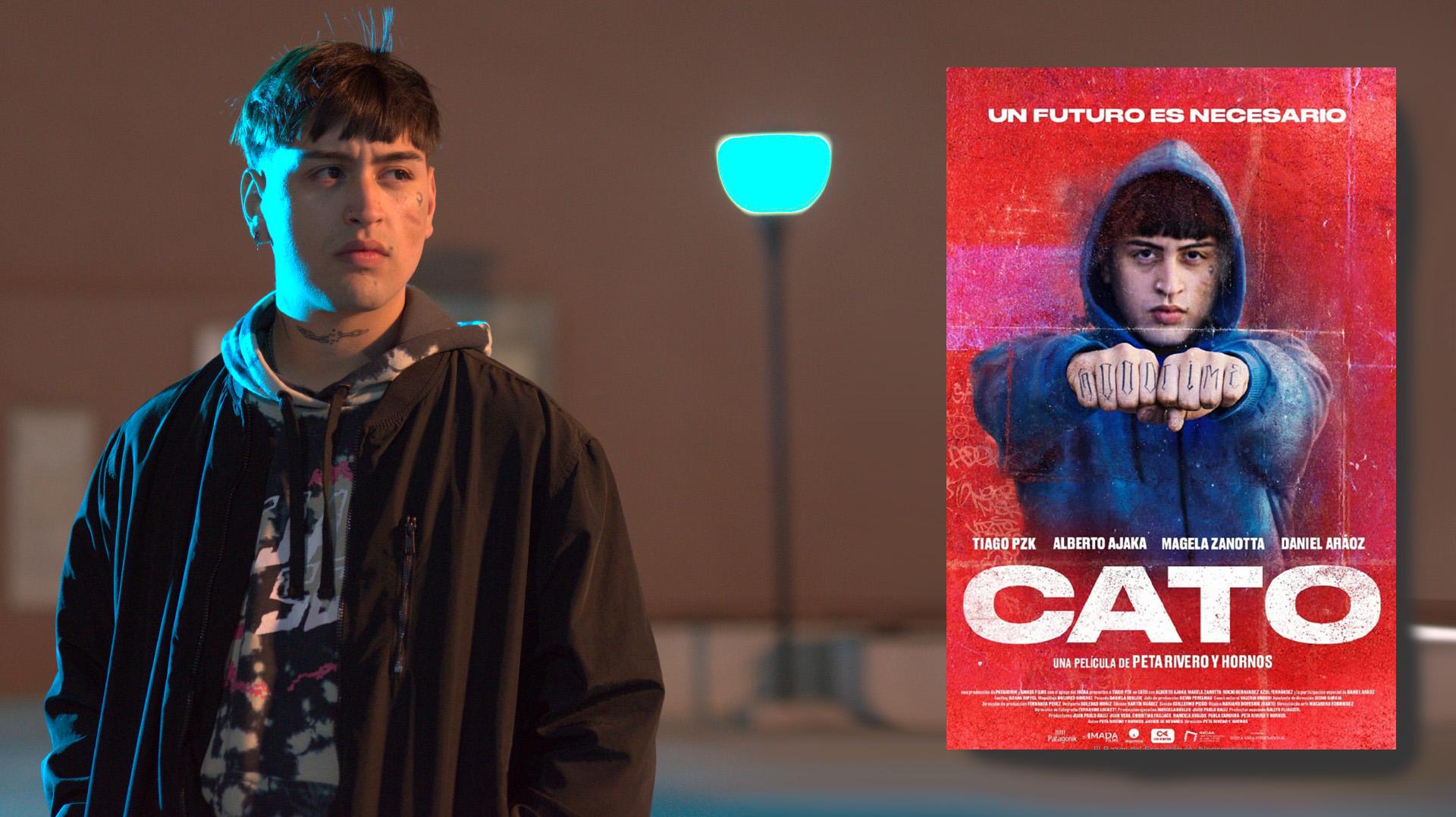 Tiago PZK y su película