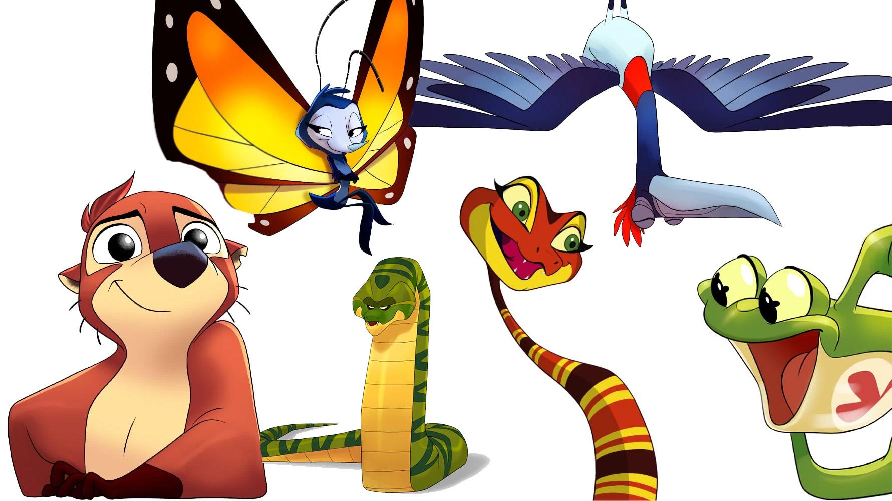 """Algunos de los personajes de """"Koati"""""""