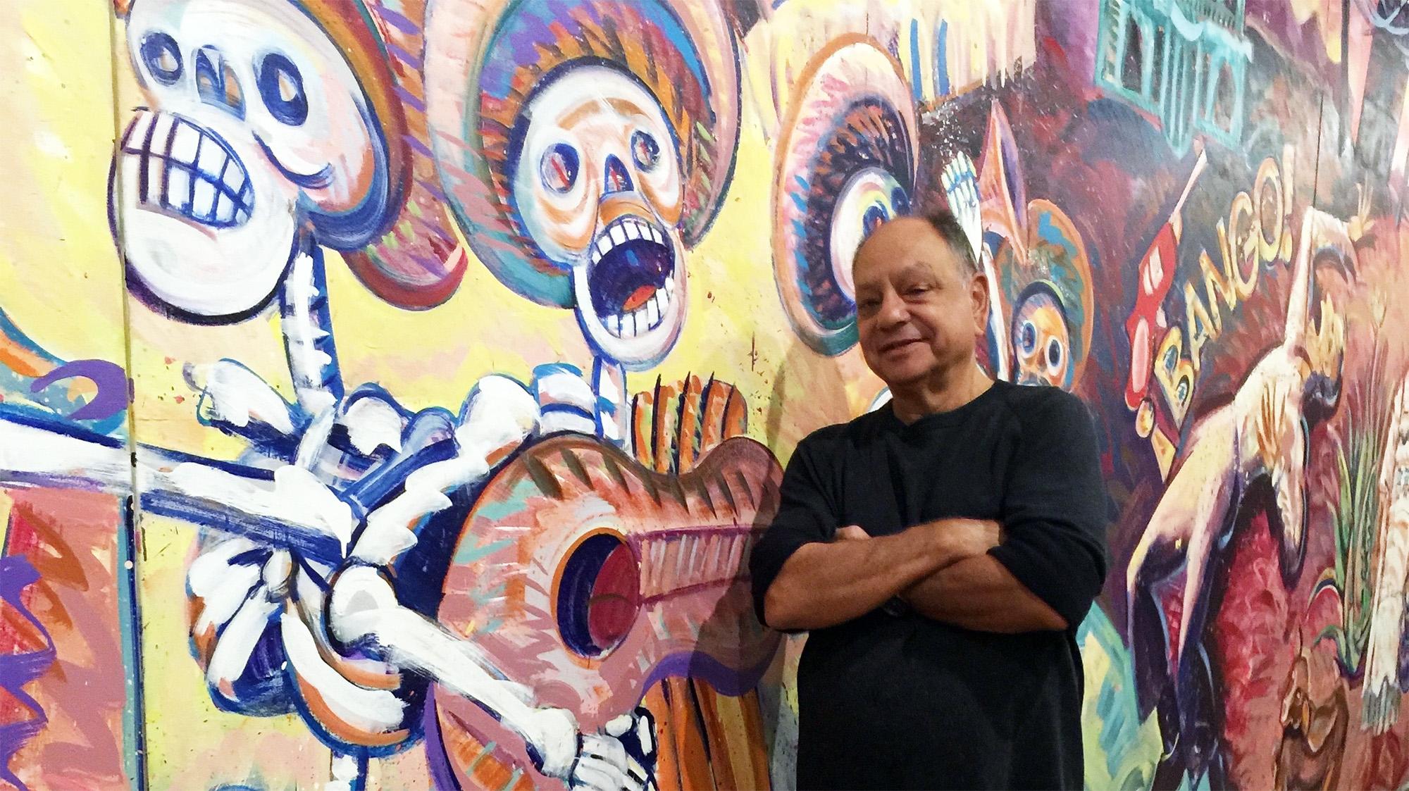 Marín lleva años coleccionando arte chicano