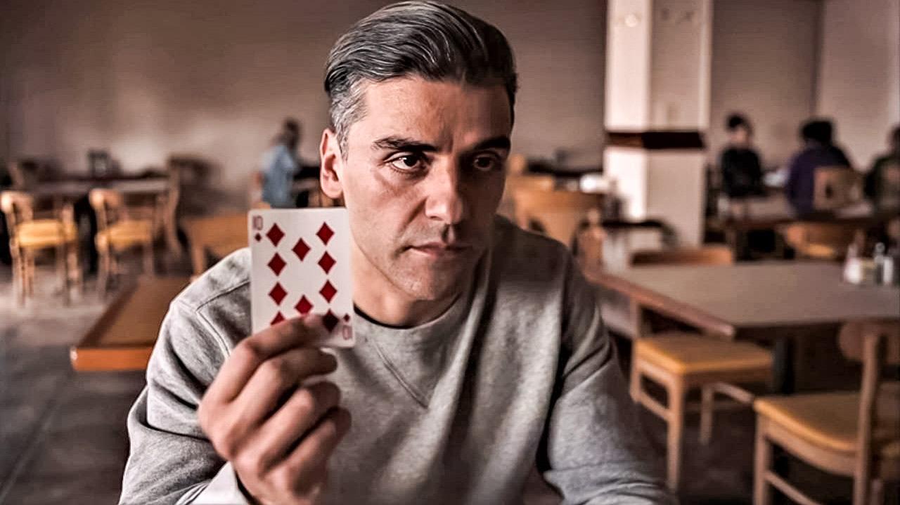 """Oscar Isaac en """"El contador de cartas"""""""