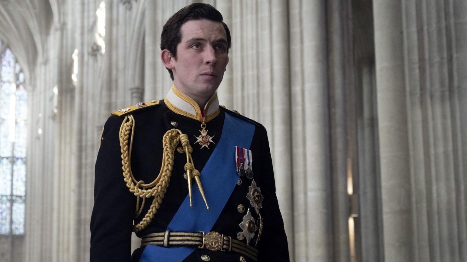 """Josh O'Connor, en """"The Crown"""""""