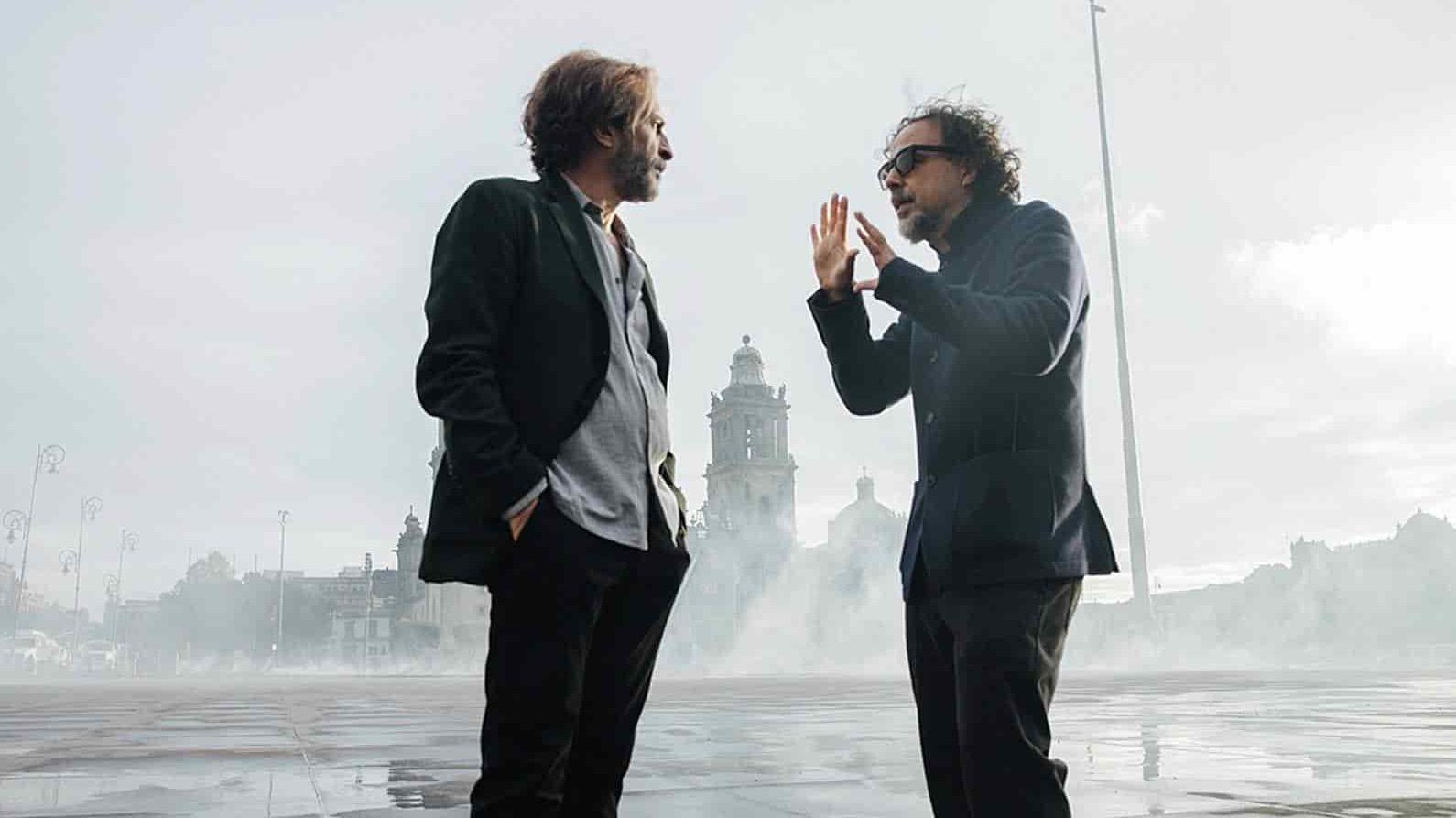 "Giménez Cacho con González Iñárritu, rodando ""Bardo"""