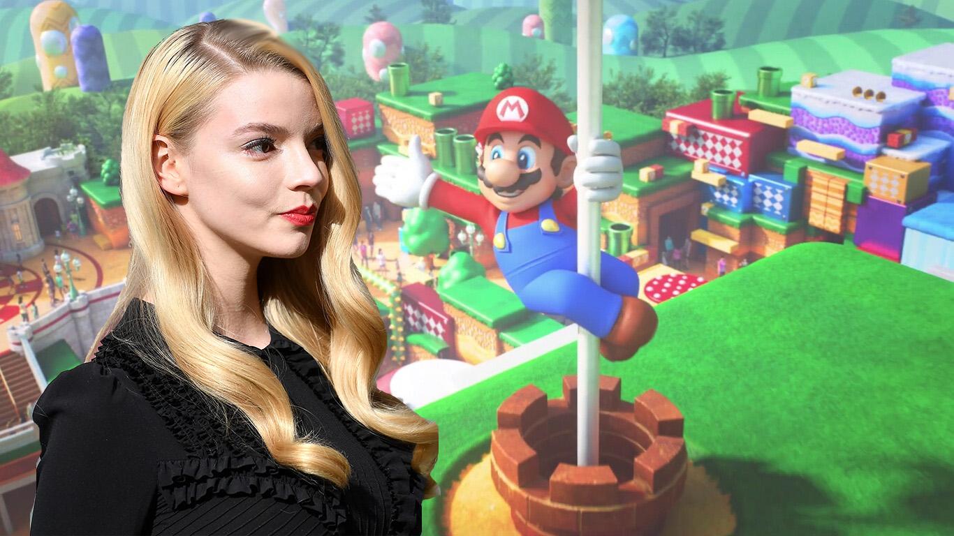 Anya Taylor-Joy en la cinta animada de Super Mario Bros