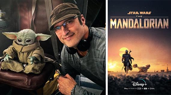 Rodríguez, con Baby Yoda