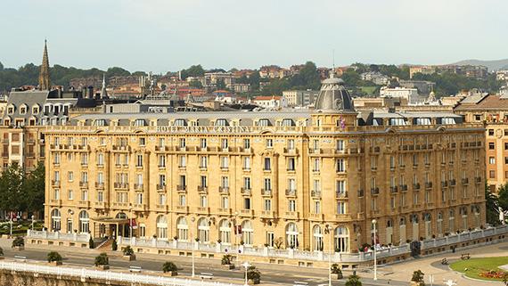 El hotel María Cristina