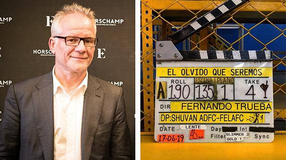 Thierry Frémaux y una de las dos películas iberoamericanas elegidas