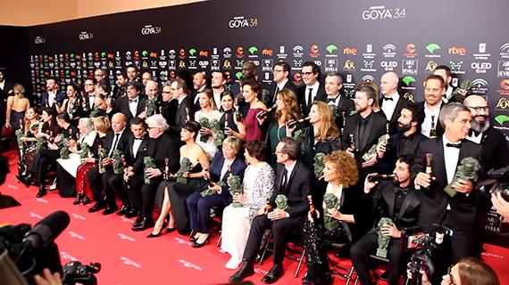 Ganadores de los Goya en su última edición