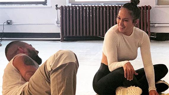 Maluma, con J.Lo