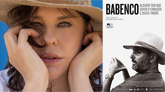 Bárbara Paz y Héctor Babenco en el film