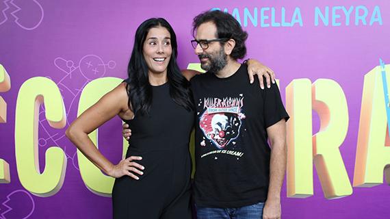 Giannella Neyra y Giovanni Ciccia