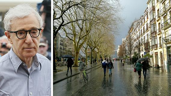 Woody Allen y el Boulevard Donostiarra