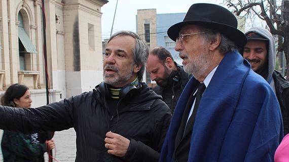 Pablo Giorgelli y Luis Brandoni