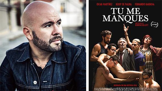 Rodrigo Bellott y el cartel de su próximo estreno