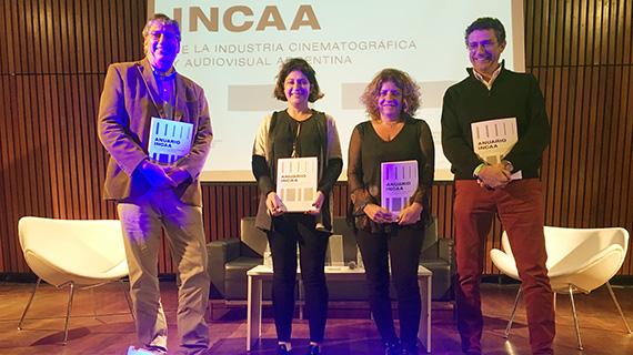 Presentación del anuario del INCAA