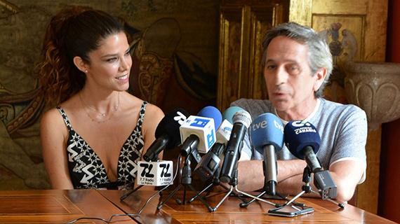 Juana Acosta, con Alfredo Castro