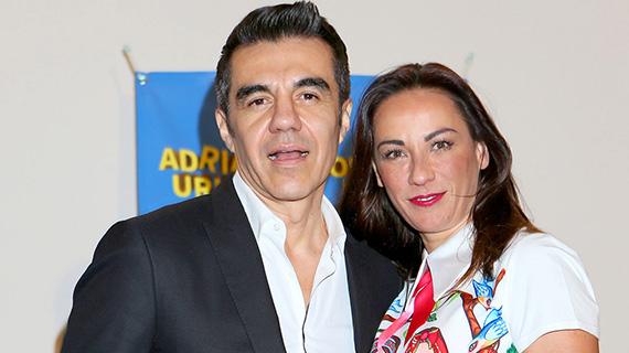 Consuelo Duval y Adrián Uribe