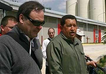 Stone y Chavez, en Barinas