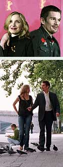 Delpy, Hawke y Before sunset