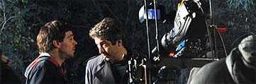 Darín recine instrucciones en la filmación de 'Delirium argentinum'