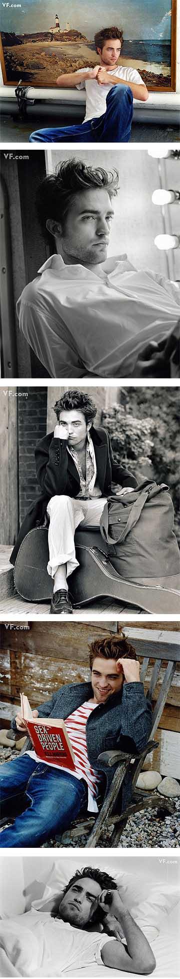 Algunas de las imágenes de Rob en Vanity Fair