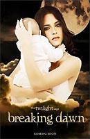 La 'mamá' Bella en uno de los carteles de 'Amanecer'