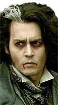 Johnny Depp afila sus colmillos