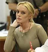 Lindsay Lohan, en su último juicio (Reuters)