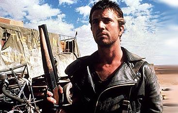 Mel Gibson, como Mad Max