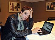 Robert Pattinson, en el chat de 'El Mundo'