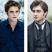 Robert Pattinson y Daniel Radcliffe, ante la cámara