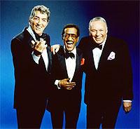 Con Dean Martin y Frank Sinatra