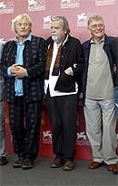 Rutger Hauer, Michael Lonsdale y Ermanno Olmi