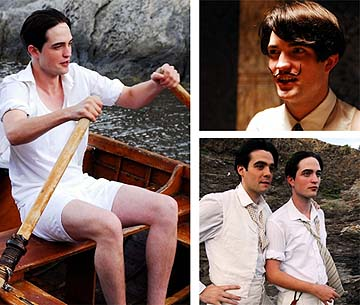 Robert Pattinson interpreta al joven Salvador Dalí