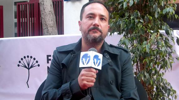 Luis María Mercado, con su opera prima en Málaga