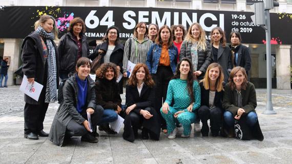 Las participantes en el III Encuentro de Mujeres Cineastas
