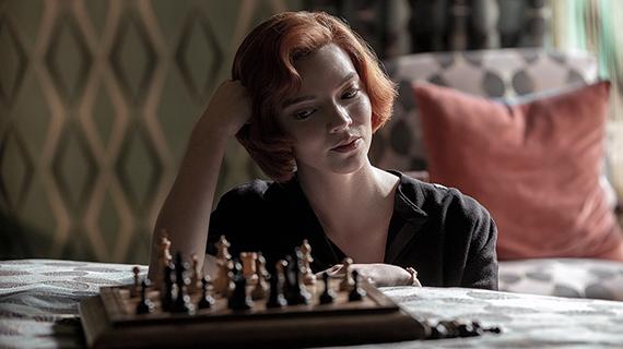 """Anya Taylor-Joy, en """"Gambito de Dama"""""""