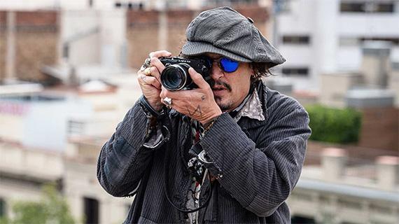 Johnny Depp en Barcelona (RTVE)