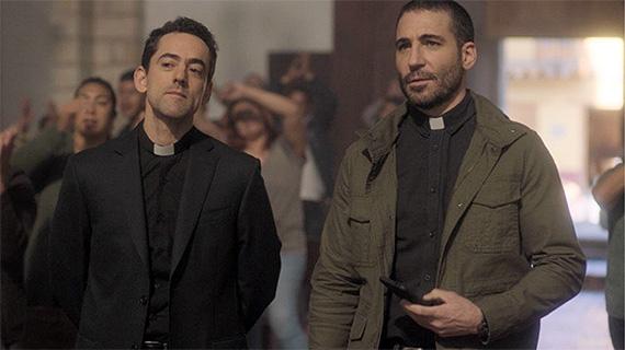 Luis Gerardo Méndez y Miguel Angel Silvestre