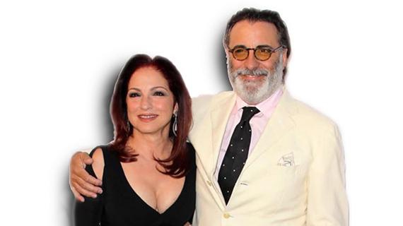 Gloria Estefan con Andy García