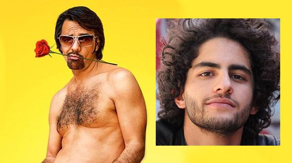 Eugenio Derbez y Enrique Arrizon, quien interpretará su personaje de joven