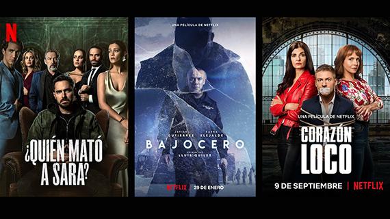 Algunos de los estrenos iberoamericanos de Netflix