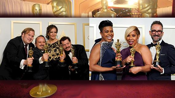 Ganadores hispanos en los Oscars