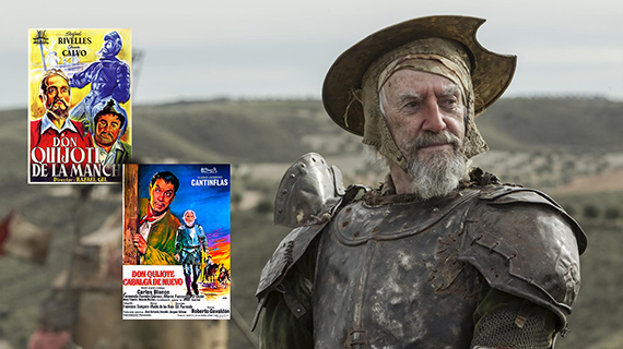Don Quijote de la Mancha, figura del cine