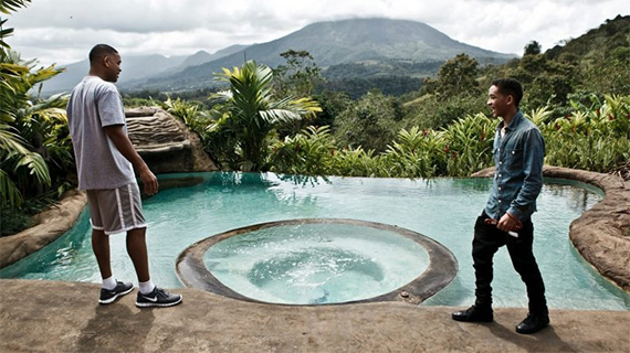 Will Smith rodó en Costa Rica
