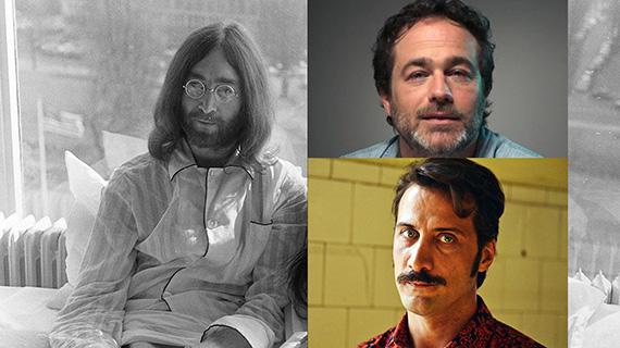 John Lennon, Gastón Pauls y Luciano Cáceres