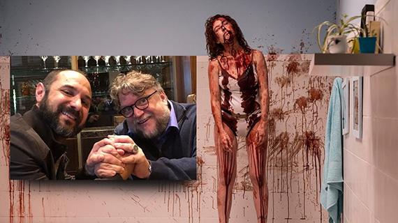 """Rugna con Del Toro y """"Aterrados"""""""