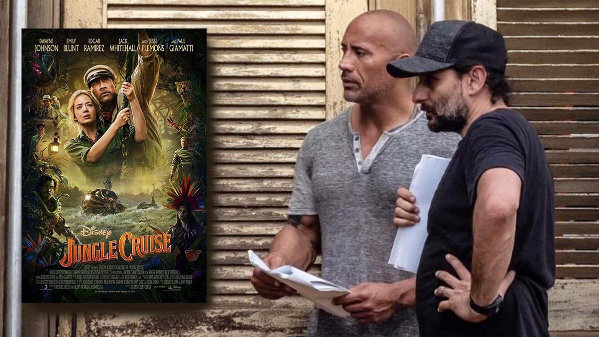 """""""Jungle Cruise"""", a la vez en cines y casas"""