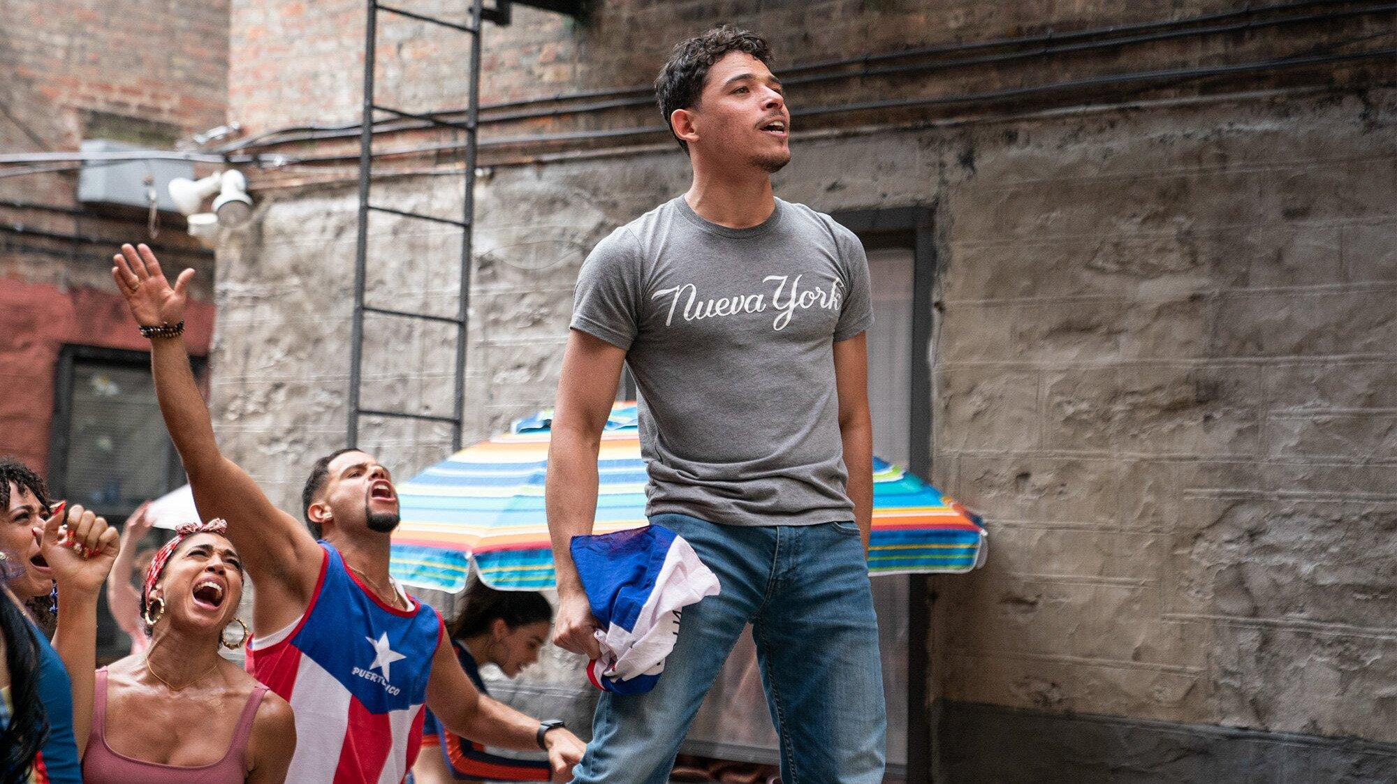 """Anthony Ramos en """"In the Heights"""""""